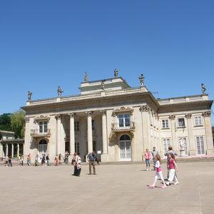Zespół Pałacowo Parkowy łazienki Królewskie Otwarte Zabytki